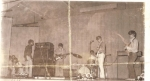 Band - circa '69-'70. Not sure what we were called as a band at this point (we changed names a lot). Left to right: Ke