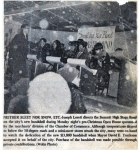 SHS Big Band Sound Newspaper Clipping - Circa ? (photo courtesy of Joseph Loreti/Facebook)