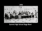 SHS Stage Band - 1970 (photo courtesy of Joseph Loreti/Facebook)